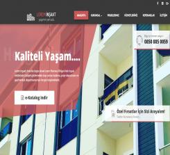 Lorem İnşaat Web Yazılımı